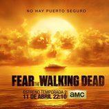 Póster oficial de la 2ª temporada 'Fear The Walking Dead'