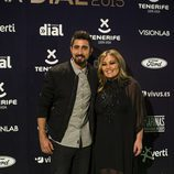 Álex Ubago junto a Amaia Montero en los Premios Cadena Dial 2016