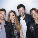 El jurado y el presentador de 'American Idol'