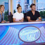 Keith Urban, Jennifer Lopez y Harry Connick Jr. en 'American Idol'