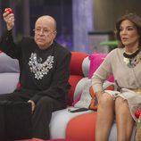 Rappel, Raquel Bollo y Laura Matamoros en la gala 10 de  'Gran Hermano VIP'