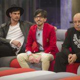 Alejandro Nieto, Dani Santos y Rappel en la gala 10 de 'Gran Hermano VIP'