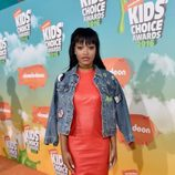 Keke Palmer ('Scream Queens') en la alfombra roja de los Nickelodeon's 2016 Kids' Choice Awards