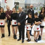 Carlos Sobera presenta al equipo de 'Primeras citas... a ciegas'