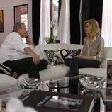 Bibiana Fernández recibe a Bertín Osborne en 'En la tuya o en la mía'