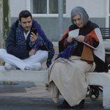 Antonio Velázquez y Terele Pavez comparten banco en 'Buscando el Norte'