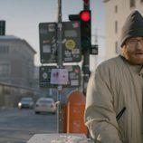 Manuel Burque pasando frío en 'Buscando el Norte'
