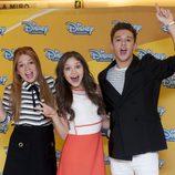 Los protagonistas de 'Soy Luna' bromean en la presentación de la serie en España