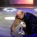 Rappel abraza a sus perros  en la gala 11 de 'Gran Hermano VIP'