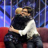 Rappel abraza a Dani Santos en el confesionario de 'Gran Hermano VIP'