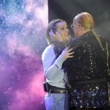 Rappel abraza a su hija en la gala 11 de 'Gran Hermano VIP'