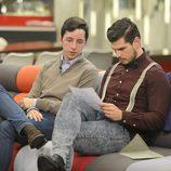 Francisco Nicolás y Alejandro Nieto en la gala 11 de 'Gran Hermano VIP'