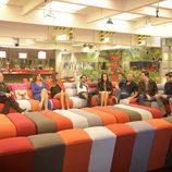 Los concursantes de 'Gran Hermano VIP' reunidos en la gala 11