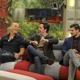 Carlos Lozano, Francisco Nicolás y Alejandro Nieto en la gala 11 de 'Gran Hermano VIP'