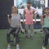 Susanna Griso y Fernando Tejero hacen ejercicio en  '2 Días y 1 Noche'