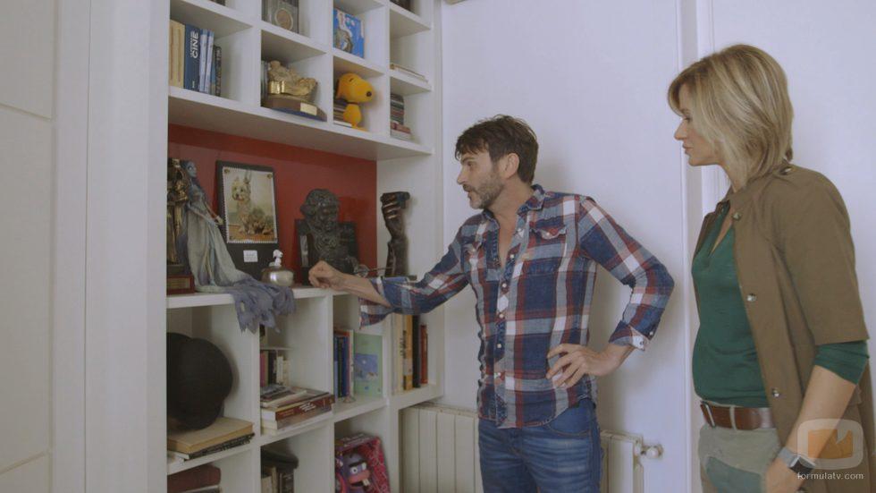 Fenando Tejero enseña su casa junto a Susanna Griso en  '2 Días y 1 Noche'
