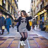 Barei realiza el famoso baile de los pies en la postal oficial de la candidatura española para Eurovisión 2016