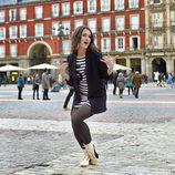 Barei graba en la Plaza Mayor de Madrid su postal para Eurovisión 2016