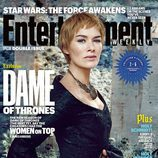 Lena Headey como Cersei Lannister en la portada de Entertainment Weekly