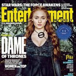 Sophie Turner como Sansa Stark en la portada de Entertainment Weekly