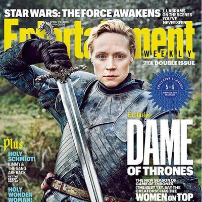 Las protagonistas de 'Juego de Tronos' en la portada de Entertainment Weekly