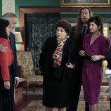 La familia del novio de Inés visita a los Alcántara en el capítulo 'Pachín'