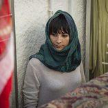 Zulema Zahir con pañuelo en la segunda temporada de 'Vis a vis'