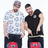 Nabil y Matías, concursantes de la sexta edición de 'Pekín Express'