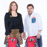 Blanca y Pepe, concursantes de la sexta edición de 'Pekín Express'