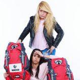 Vanessa y Andrea, concursantes de la sexta edición de 'Pekín Express'