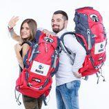 Marta y Giorgi, concursantes de la sexta edición de 'Pekín Express'