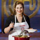 Virginia, concursante de la cuarta edición de 'Masterchef'