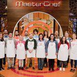 Los concursantes de la cuarta edición de 'Masterchef'