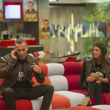 Carlos Lozano hablar por teléfono la gala 14 de 'Gran Hermano VIP'