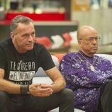 Carlos Lozano y Rappel en la gala 14 de 'Gran Hermano VIP'