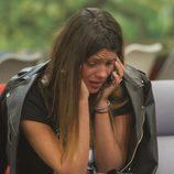 Laura Matamoros emocionada tras recibir una llamada en 'Gran Hermano VIP'
