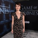 Lena Headey en la premiere de la sexta temporada de 'Game of Thrones'