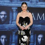 Emilia Clarke en la premiere de la sexta temporada de 'Game of Thrones'
