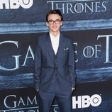 Isaac Hempstead-Wright en la premiere de la sexta temporada de 'Game of Thrones'