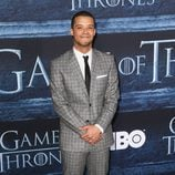 Jacob Anderson en la premiere de la sexta temporada de 'Game of Thrones'