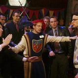 Max Greenfield y Christopher Gorham en 'Ugly Betty'