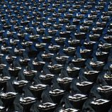Instantánea de la ceremonia de inauguración de los Juegos de Pekín