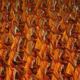 Acto de la ceremonia de inauguración de los Juegos Olímpicos de 2008