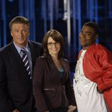 Alec Baldwin, Tina Fey y Tracey Morgan