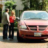 Lori Loughlin y Rob Estes en '90210'
