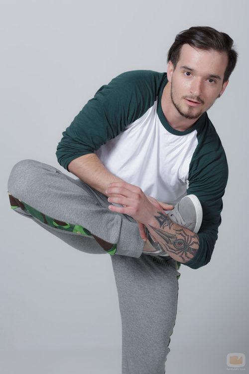 Adrián López, concursante de 'Top Dance'