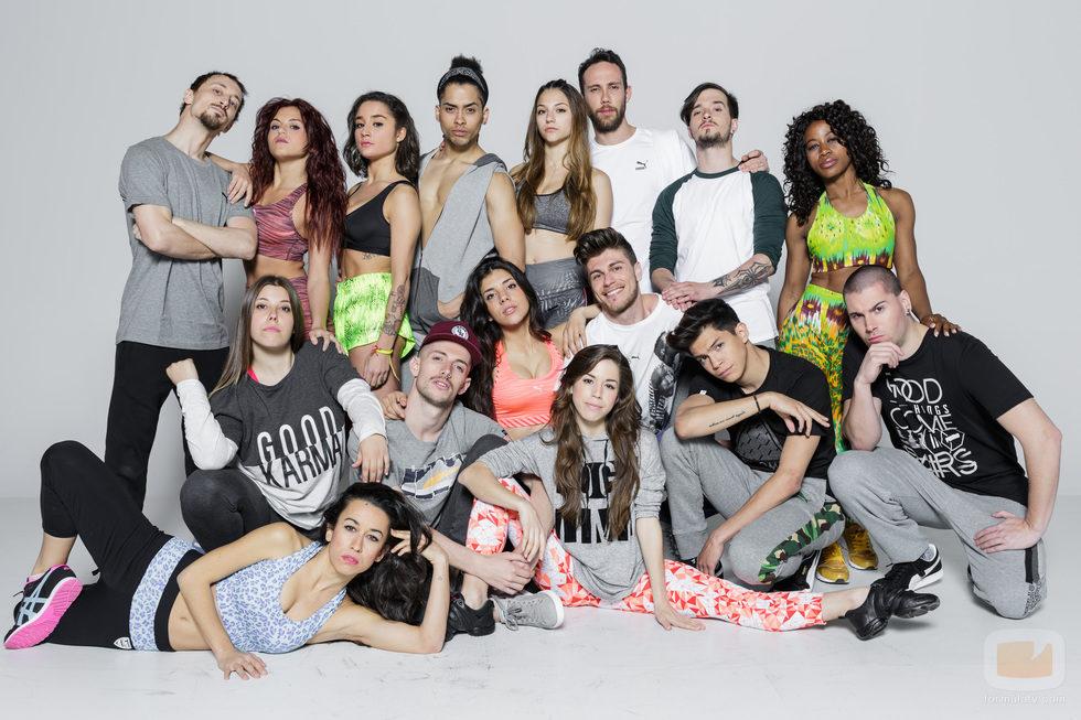 Los concursantes de 'Top Dance'