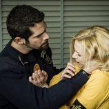 Valbuena golpea a Macarena en 'Vis a vis'