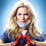 Cartel oficial de la serie 'Heartbeat'