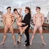 Steisy muestra su sensual cuerpo en las alturas de Madrid